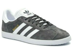 Details about *NEW - ADIDAS ORIGINALS GAZELLE MENS SHOES - GREY/WHITE (BB5480) - ALL SIZES