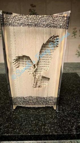 Book Art Folding PATTERN Eagle Cut And Fold #614