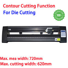 New Listing720mm Manual Vinyl Cutter Cutting Plotter Die Contour Cutting Without Stand