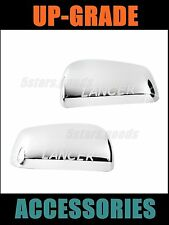 Accessories Chrome Door Side Mirror Covers For 2008-2014 Mitsubishi Lancer Sedan