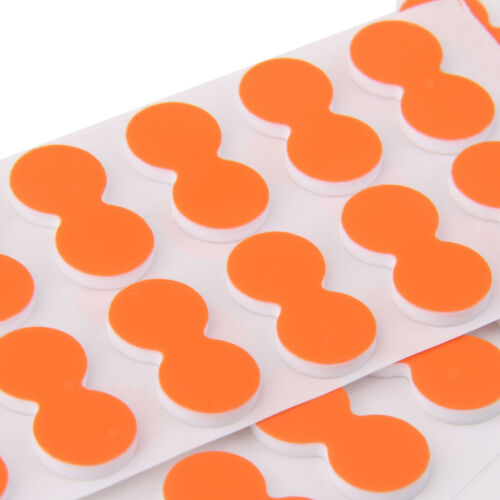 Foam Pinch On Strike Indicator Fly Fishing For Fishermen Pack of 24 Orange