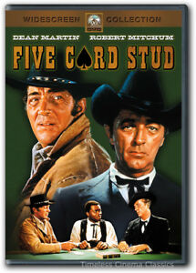 Image Is Loading Five Card Stud Dvd New Dean Martin Robert