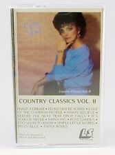 CHRISTY LANE COUNTRY CLASSICS VOL II 1989 CASSETTE WITH NEW CLEAR JEWEL CASE