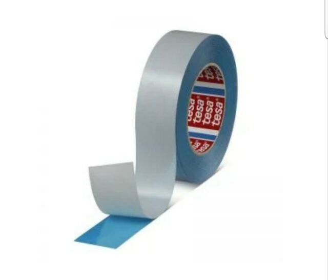 "NEW TESA 51914 1//2/""  55 YDS DOUBLE SIDED REPULPABLE TISSUE BLUE TAPE 711033 482"