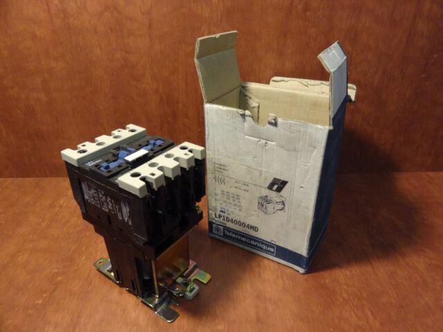 LP1D1201BD Telemecanique Contactor 24VDC Coil 7.5HP NIB