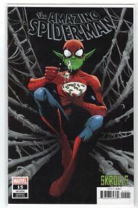 The-Amazing-Spider-Man-15-034-Skrulls-Variant-034-Marvel-Comics-1st-Print-2019