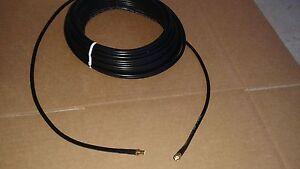 US MADE  LMR-240  SMA  Male  to   SMA   Male  50 ohm  coax cable  15 FT