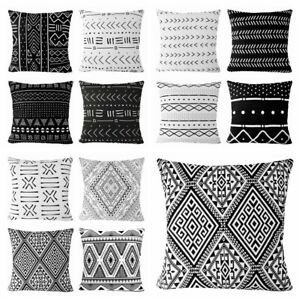 Prime Details About 16X16 Black White Premium Throw Pillow Cover Sofa Couch African Cushion Case Uwap Interior Chair Design Uwaporg