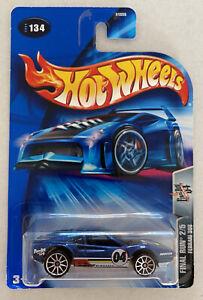 2004 HotWheels FERRARI 308 GTB BLU! ultima Run! Nuovo di zecca! MOC!