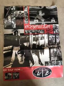 Edgewater-Tour-Poster-Signed-By-Band-Members-including-Matt-Moseman
