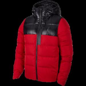 f73cb29bc4c1 Jordan Ultimate Flight Down Fill Jacket New Men s Red Black Sports ...