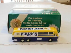 Minnesota-Vikings-1-64-Scale-Motorcoach-NFL-Collectible-with-Original-Box-RARE