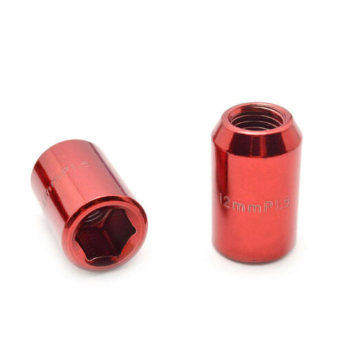M12x1.5 Open End Inner Hex Racing Steel Wheel Extended Lug Nuts For Toyota 20PCS