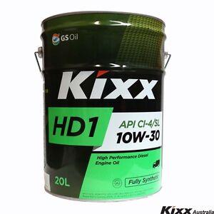 Kixx hd1 full synthetic diesel engine oil 10w 30 20 for Hd 30 motor oil