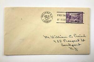 1949 FDC CDS Halifax 200 Year Anniversary 1749 To 1949 Envelope 513C