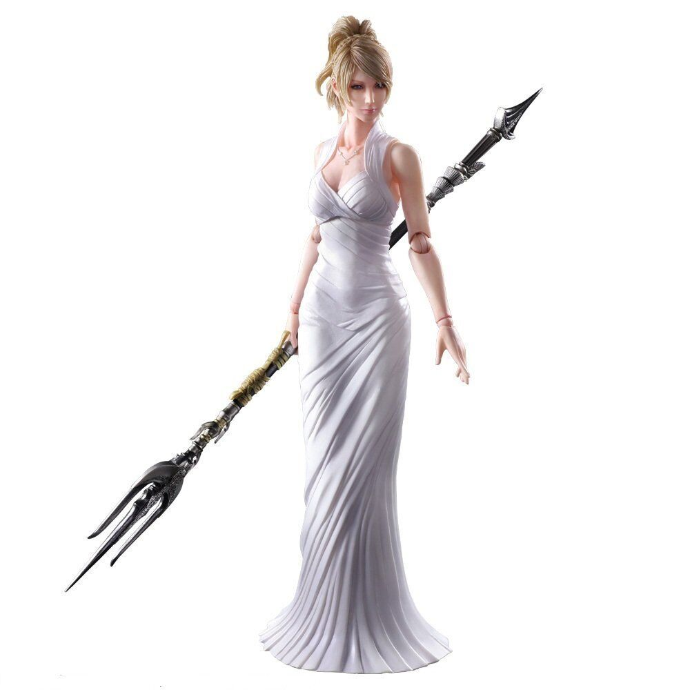 Square Enix PLAY ARTS KAI Final Fantasy XV Lunafreya Nox Fleuret Japan version