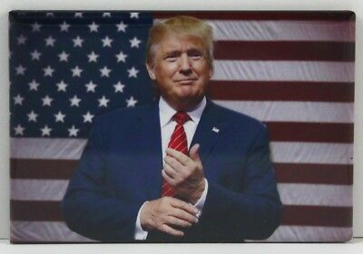 "Republican GOP Democrat President Donald Trump 2/"" X 3/"" Fridge Magnet"