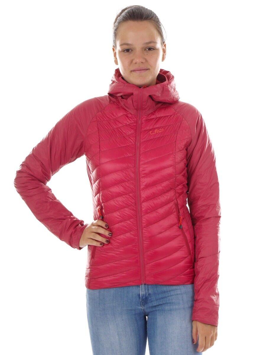 CMP Daunenjacke Funktionsjacke Übergangsjacke Rosa Primaloft® Teflon®