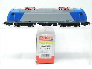 HO-Scale-PIKO-57440-CFL-Luxembourg-Railways-Bo-Bo-BR-185-Electric-Locomotive