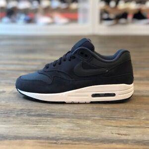Details zu Nike Air Max 1 Gr.38 Running Sneaker Schuhe schwarz 270 Damen 319986 041