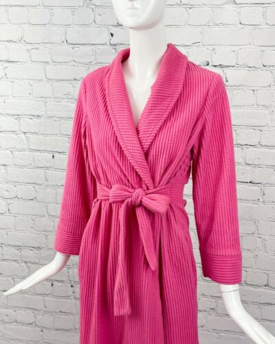 Vintage Robe Evelyn Pearson Pink Quilted 1960/'s