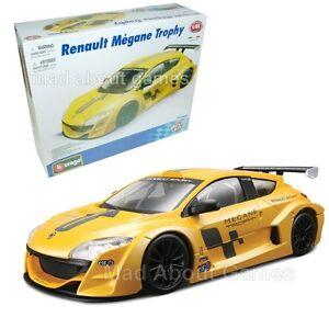 RENAULT-MEGANE-TROPHY-1-24-Car-Diecast-KIT-Model-Assembly-Construction-Model