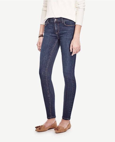 Ann Taylor - Petite 14P bluee Marina Wash Modern Skinny Ankle Jeans (25)