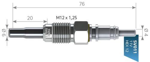1.9 TDI b4 b4 3 unidades svac ® OEM-Q doble función zuheizer audi 80 avant