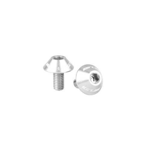 MTB Bike Water Bottle Cage Bolts Bicycle Screw Bolts Aluminum Alloy 2x   M5*12mm