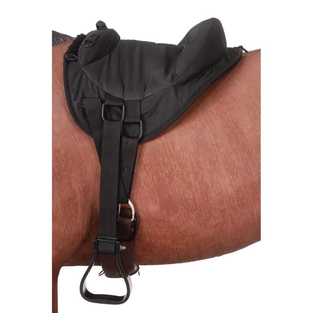 Tough 1 Premium Denier Bareback pesado Pad Juventud Pony Negro Envío Gratis