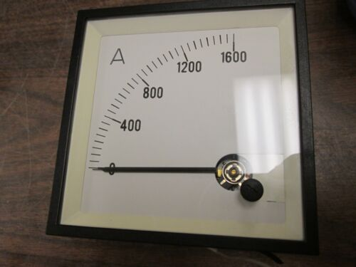 Circutor 90 Degree Amp Meter BC96-4-20MA Input 4-20mA DC Used