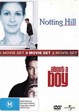 Notting Hill / About A Boy - Hugh Grant / Julia Roberts DVD R4 - PAL - New