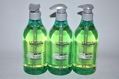 Loreal - Volumetry Shampoo 3x500ml - Serie Expert - für feines Haar