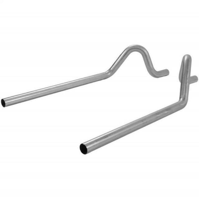 Exhaust Pipe 15816 Flowmaster Prebent Tailpipes - 2.50 in. Rear Exit - Pair 1581