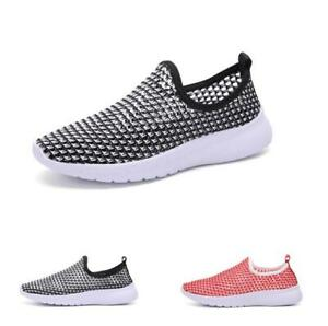 New-Mens-Breathable-Slip-On-Sneakers-Leisure-Outdoor-Sport-Running-Shoes-Summer