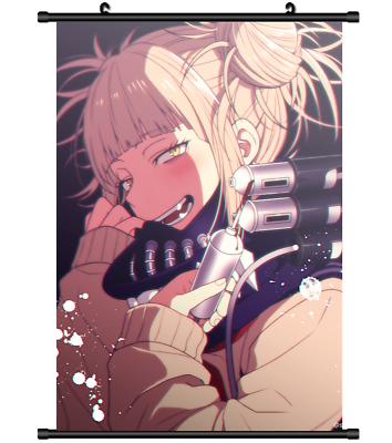 3186 Anime My Boku no Hero Academia Toga Himiko wall Poster Scroll Cosplay A