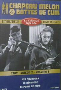 DVD-NEUF-CHAPEAU-MELON-amp-BOTTES-DE-CUIR-1962-SAISON-2-VOLUME-3