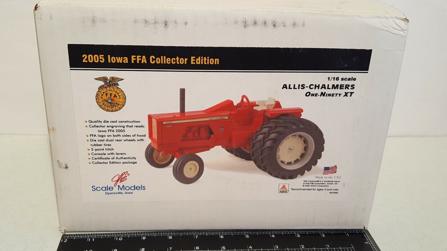 Allis Chalmers One Ninety XT w dauls 1 16 diecast tractor replica by Scale Model