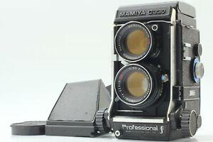 EXC-5-Mamiya-C330-Pro-F-Twin-Lens-Reflex-Film-Fotocamera-W-Sekor-DS-105mm-F-3-5-PUNTO-BLU-GIAPPONE