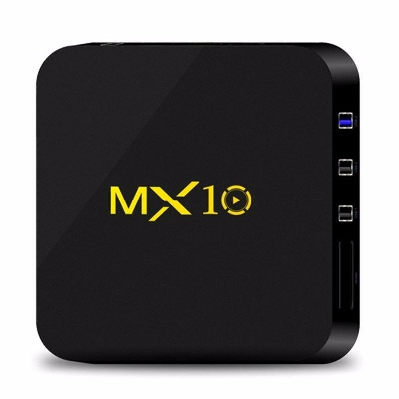 MX10 Quad-Core Android 8.1 4GB 32GB DDR3 eMMC 4K HDR WIFI Smart TV BOX Updated