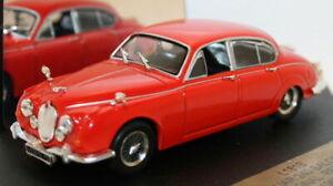 Vitesse-1-43-SCALA-L181B-1967-JAGUAR-240-BERLINA-rosso-segnale
