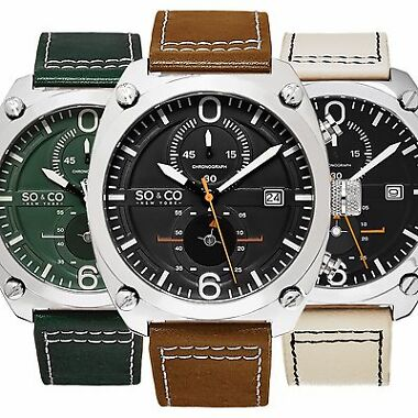 SO & CO NY 5285 Men's Watch