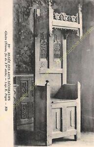 Postcard-Arts-Decorative-Furniture-Chaire-Period-XV-Edit-ND-331