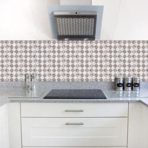DIY Self Adhesive Tile Art Floor Wall Vinyl Decal Sticker Kitchen Bathroom Decor