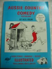 Aussie Country Comedy Neil Hulm Illustrated Australiana Stories pb b84
