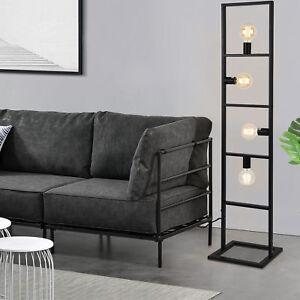 lux-pro-Stehleuchte-142cm-Stehlampe-Standleuchte-Stand-Lampe-Metall-4-flammig