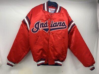 Methodisch Cleveland Indians Rot Diamant Sammlung Satin Starter Full Snap Jacke Herren S Klar Und Unverwechselbar Baseball & Softball Weitere Ballsportarten