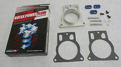 OBX Racing Sports Throttle Body Spacer Fits 90-93 Acura Integra RS LS GS B17A//B