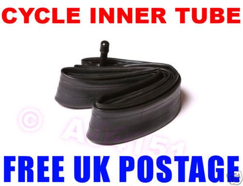 """Hybrid Town Bike 27/"""" x 1 1//4 ¼ Inch Inner Tube FREEPOST"""