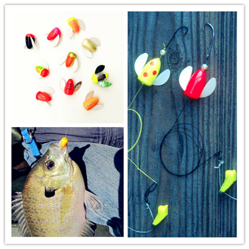 10-100Pcs Spin and Glo  Body Only  For Trout Kokanee Pan Fish  Random color  brand outlet